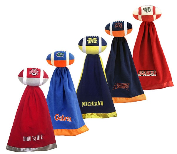 NCAA College Team Logo Snuggleball & Security Blanket - Thumbnail 0