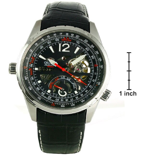 Orient By Seiko Automatic Men's Skeleton Watch