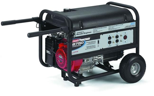 7000W Portable Generator W/13 HP Honda OHV Engine