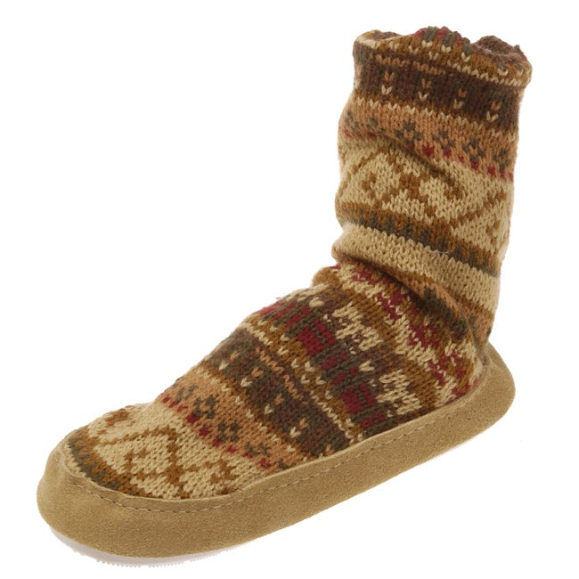MukLuks Boy's Slipper Socks - Thumbnail 0
