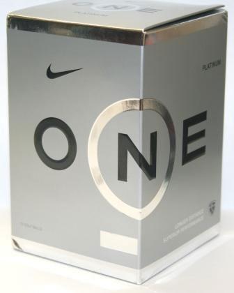 Nike ONE Platinum Golf Ball Cube (Box of 12)