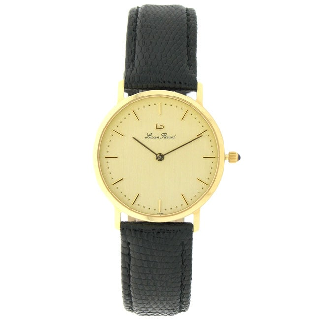 Lucien Piccard 18k Yellow Gold Men's Watch