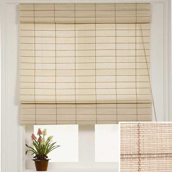 Chicology Kyoto Cappuccino Roman Shade (42 x 72)