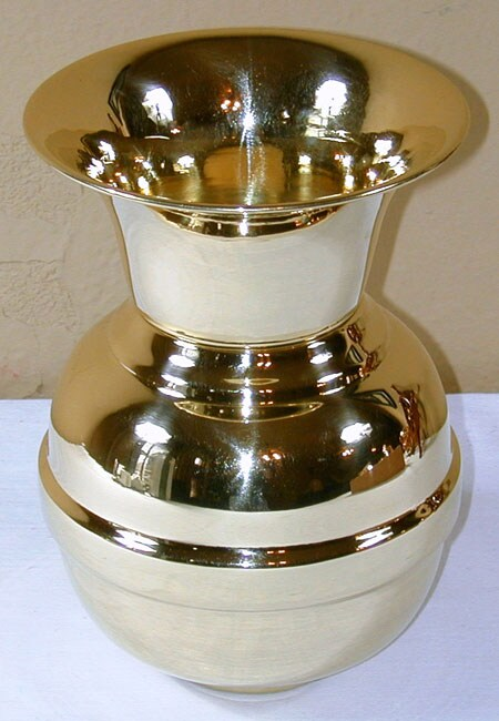 Handcrafted 8-inch Brass Spittoon