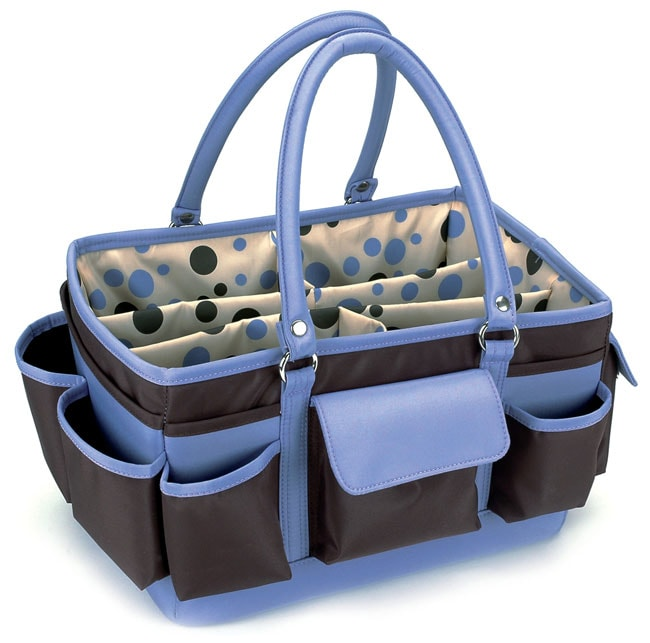 Mackinac moon open top craft tote free shipping on for Arts and crafts tote bags