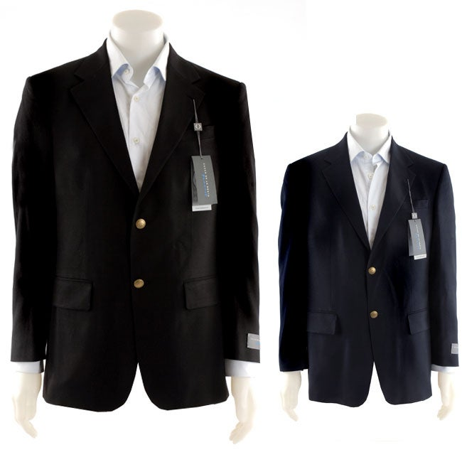 Oscar de la Renta Men's Wool Year-round Blazer