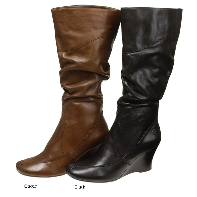 bronx wedge boots free shipping today