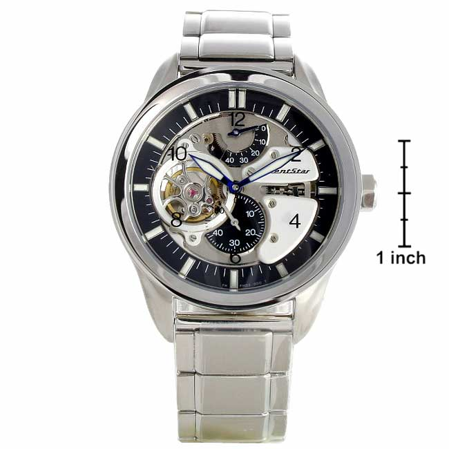 3975b4b2c97 Shop Orient Star Collection Men s Skeleton Watch - Free Shipping Today -  Overstock - 2896885