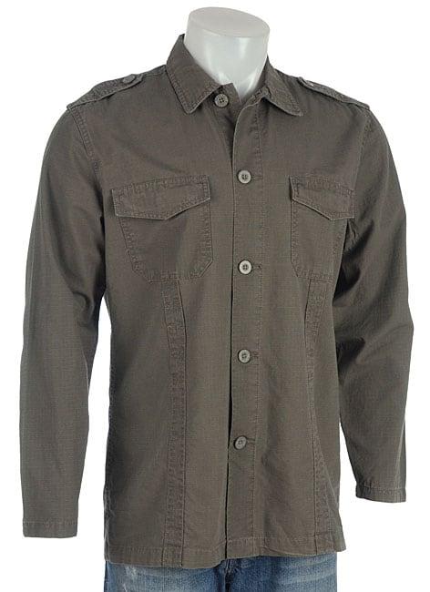 Point Zero Men 39 S Military Style Long Sleeve Shirt Free
