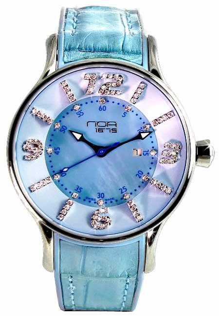 Noa Women's  Blue Dial Watch