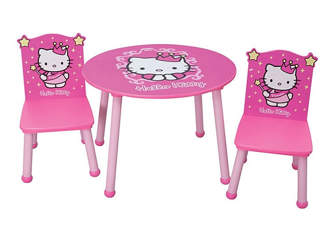 Hello Kitty Princess Table and Chair Set  Free Shipping On Orders Over $45
