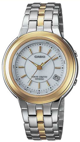 Shop Casio Women s Wave Ceptor Solar Power Watch - Free Shipping Today -  Overstock - 2911253 715b899b0