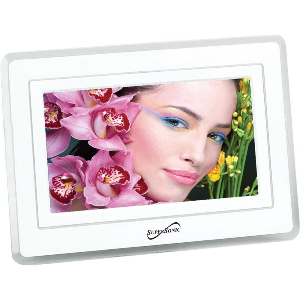 Supersonic SC-7001 7-inch Digital Picture Frame with Remote Control
