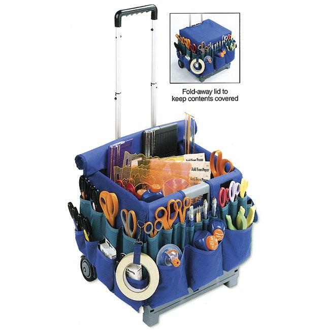 Fiskars CraftCrate Rolling Organizer