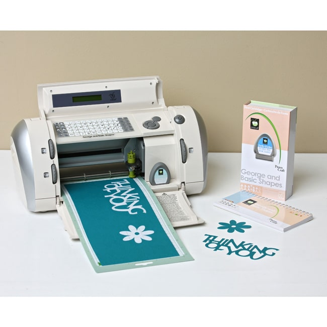 Cricut personal electronic cutter free shipping today for Craft die cutting machine