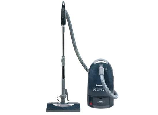 Panasonic Platinum Hepa Canister Vacuum Cleaner Free