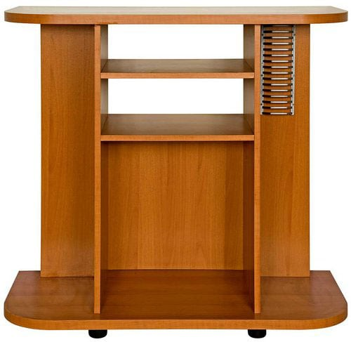 Tiffany Deluxe Light Cherry Finish TV Stand