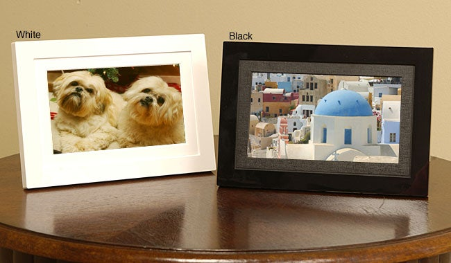 Shop Shomi 7 Inch Digital Picture Frame Free Shipping Today