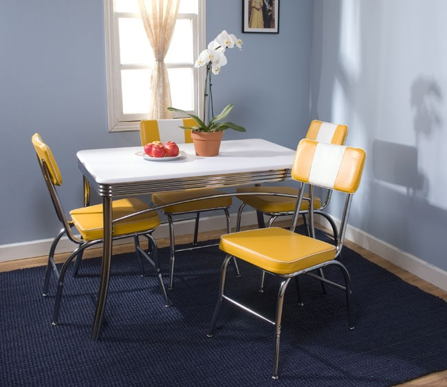 Simple Living Birmingham Retro 5 Piece Dining Set