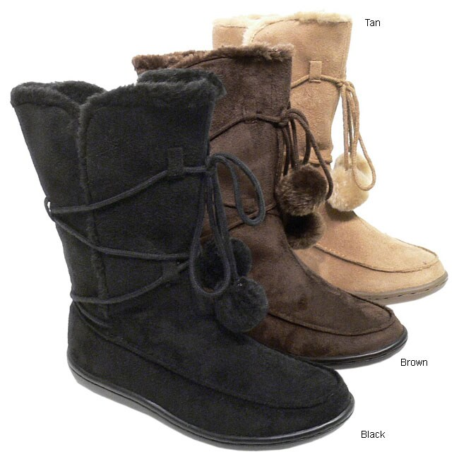 Next by Adi Children's Faux Suede Mukluk Boots