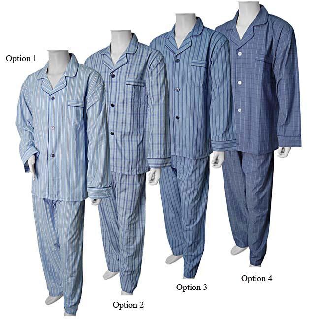 8bb7daeb5c848 Shop Hanes Classics Men's Collar 2-piece Pajama Set - Free Shipping On Orders  Over $45 - Overstock - 2929363