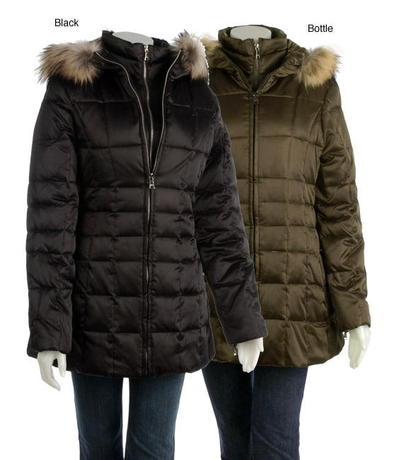 Marc New York Freeze Fur-lined Quilted Down Jacket - Free Shipping
