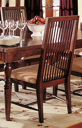 Nathan Hale Mission Cherry Dining Chair Set Of 2 Free Shipping Today Ov