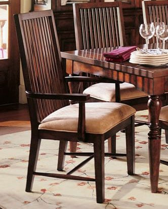 Nathan Hale Mission Cherry Arm Chairs Set Of 2 Free Shipping Today Over