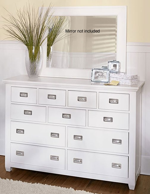 11 Drawer White Dresser Free Shipping Today Overstock