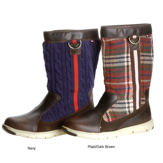 e48e4e6f5 Shop Tommy Hilfiger Women s Sierra Knit Boots - Free Shipping Today -  Overstock.com - 2936614