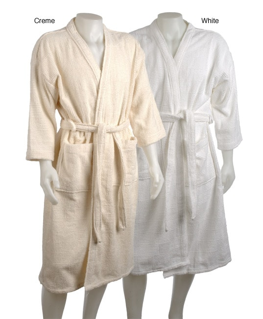Shop Espalma Basket Weave Rib Robe - Free Shipping On Orders Over  45 -  Overstock - 2941257 b6ff7f72b