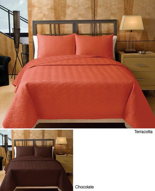 Winthrop Solid Quilt Set