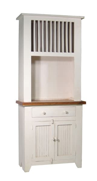 White Kitchen Hutch rustic small white kitchen hutch - free shipping today - overstock
