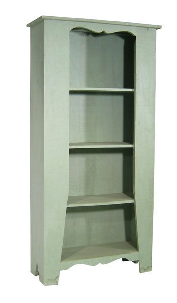 Shop Rustic Turquoise Bookshelf