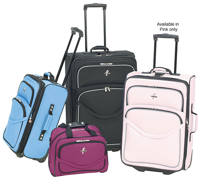 Atlantic Luggage Escapade 4-piece Luggage Set (Pink)