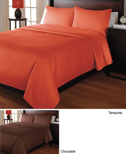 Shop Calabria Solid Quilt Set Free Shipping Today