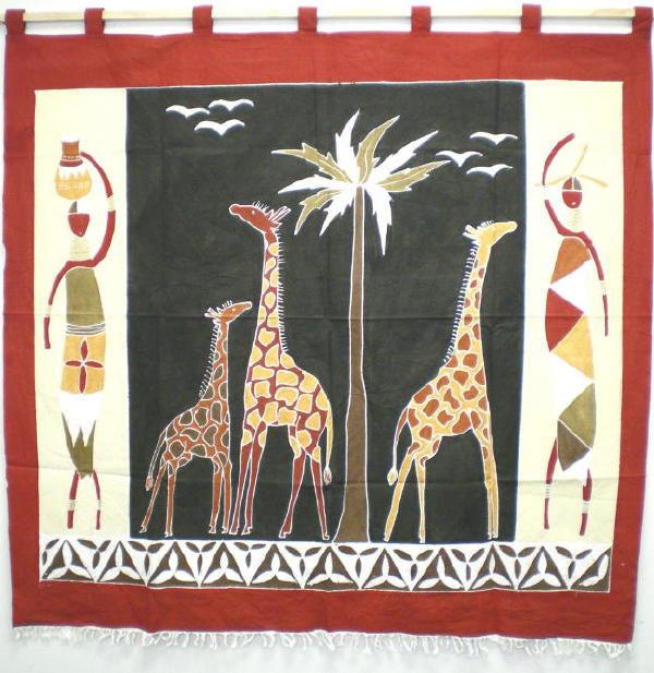 Traditional Giraffe Wall Hangings (Zambia)