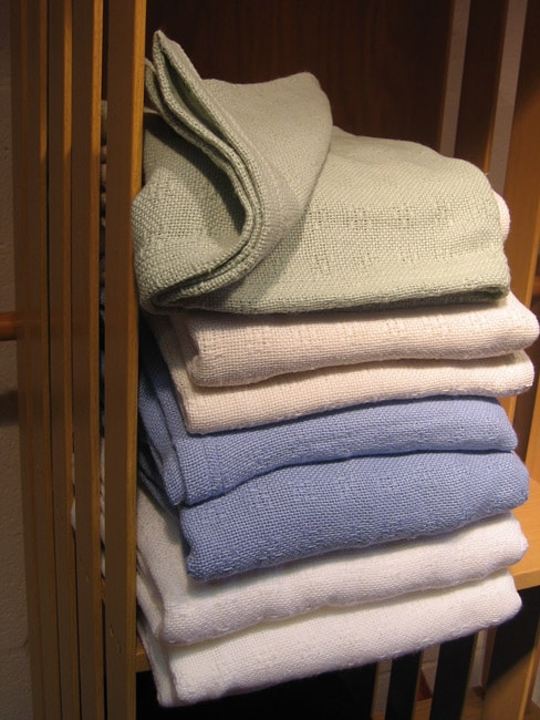 NASA Cotton/ Outlast Material Blanket