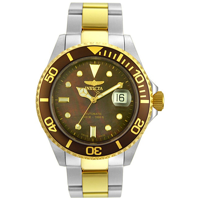8aa25338e Shop Invicta Men's Pro Diver Automatic Watch - Free Shipping Today -  Overstock - 2971246