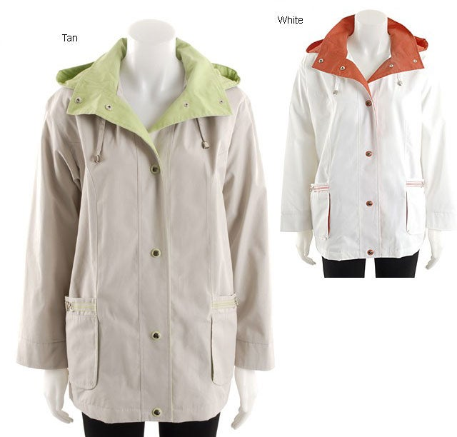 Mackintosh Women's Hooded Spring Jacket