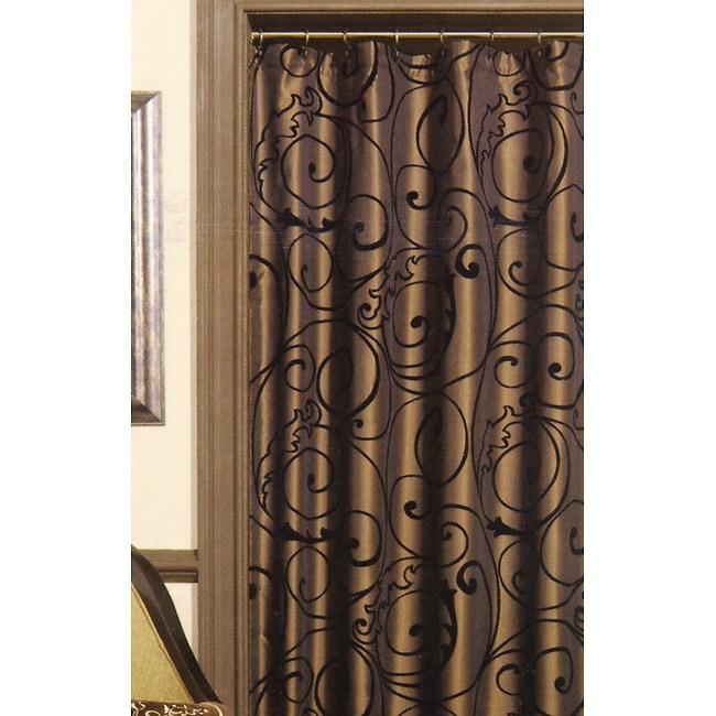 Croscill Barocco Scroll Shower Curtain
