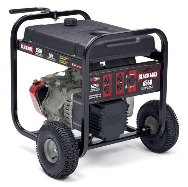 Powermate Black Max 5250 Watt Portable Generator (Refurbished)