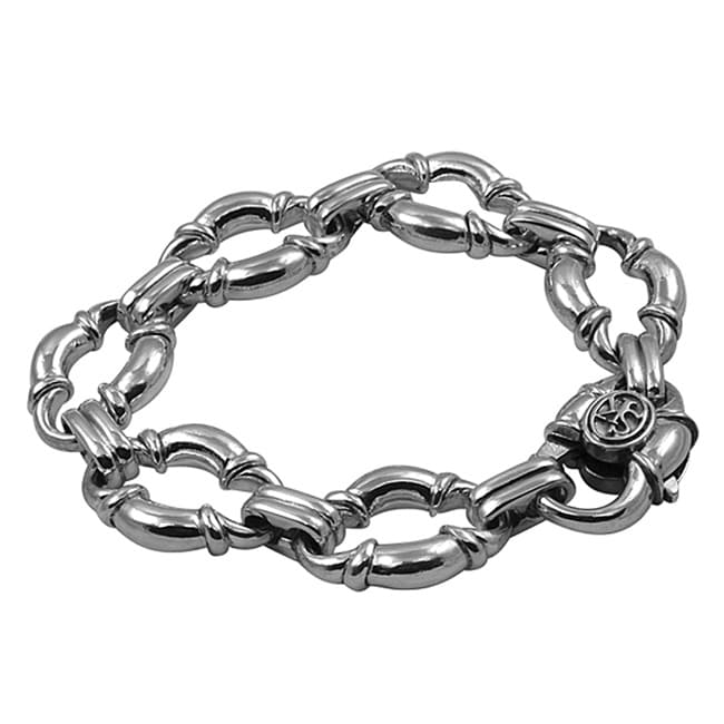 147629897 Shop Scott Kay Sterling Silver Bolo Link Bracelet - Free Shipping Today -  Overstock - 2992599