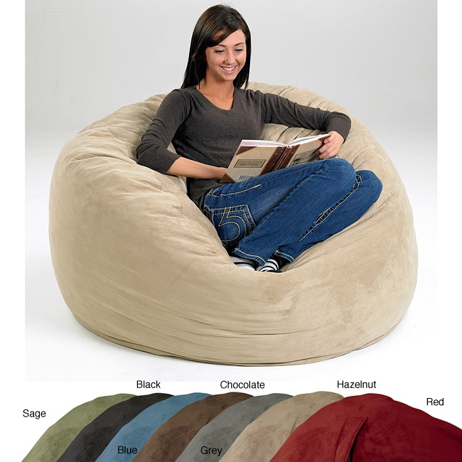 Large Memory Foam Lounge Bag (Set of 2)