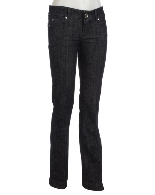 1ae2c7d4a1933 Shop Level 99 Chloe Signature 5-pocket Bootleg Jeans - Free Shipping Today  - Overstock - 2999707