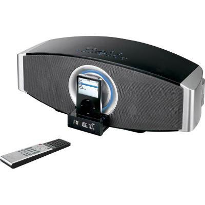 iLive iHS1 Black iPod Docking Music System