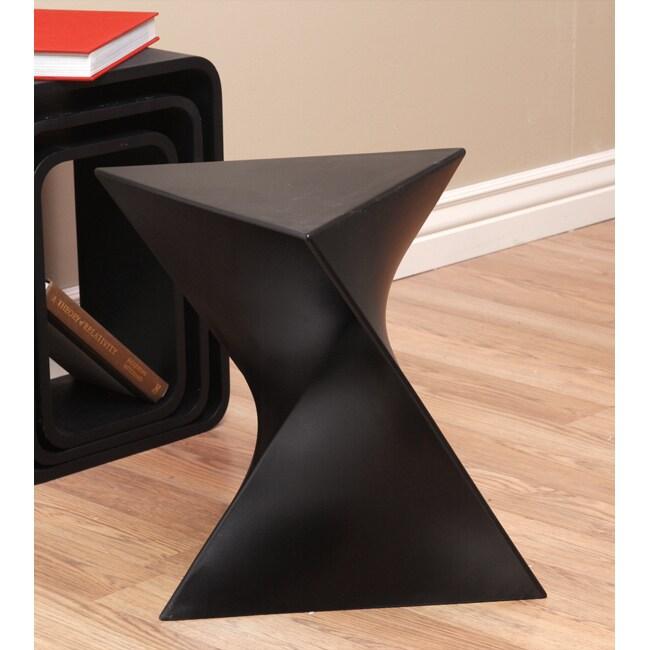 Prism Black Side Table