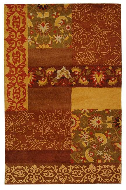Safavieh Handmade Cosmopolitan Blocks Wool Rug - 8' x 10'