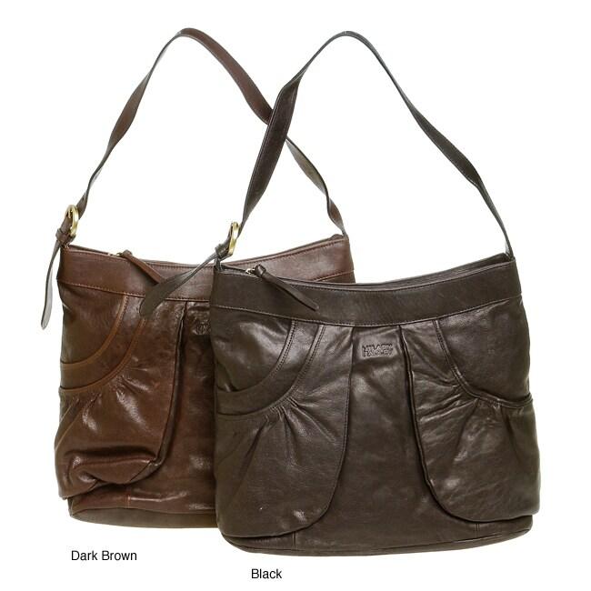 Hilary Radley Single Strap Leather Bag