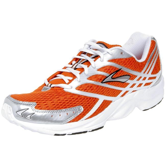 Brooks Burn Men's Orange Running Shoes - Free Shipping